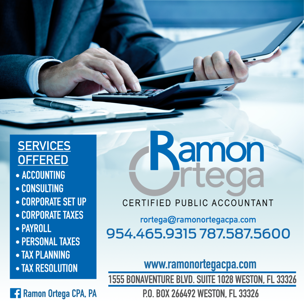 Ramon Ortega CPA - Flyer